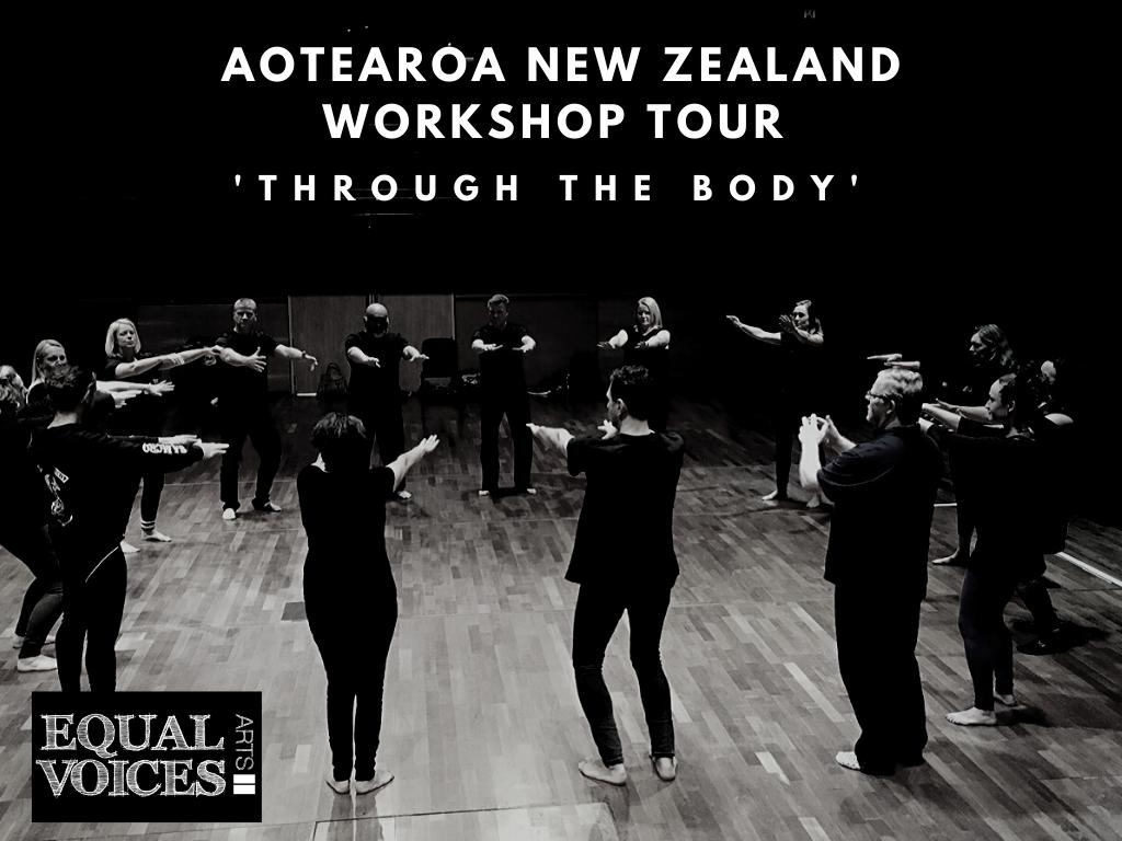 Photo: Through the Body workshops