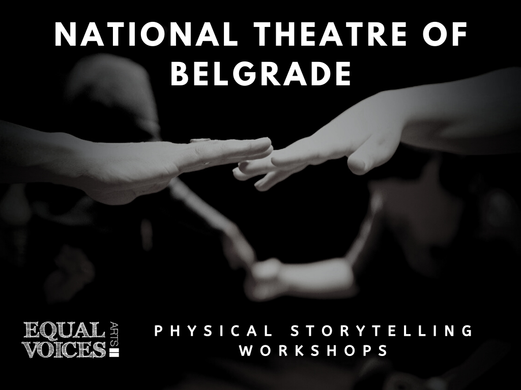 Photo: Physical Storytelling workshops at National Theatre, Belgrade