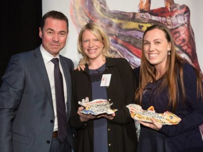 Photo: Equal Voices Arts win Arts Access Aotearoa Award at Parliament