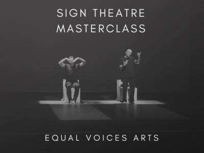 Photo: Professional Sign Theatre Masterclass in Hamilton, Aotearoa New Zealand
