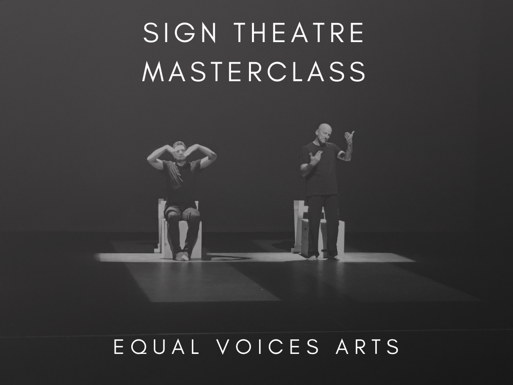 Photo: Professional Sign Theatre Masterclass in Hamilton, Aotearoa New Zealand